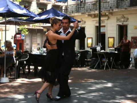Live Tango, Plaza Dorrego, San Telmo, Buenos Aires