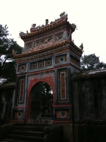 ebenfalls Tu Duc, Hue, Vietnam