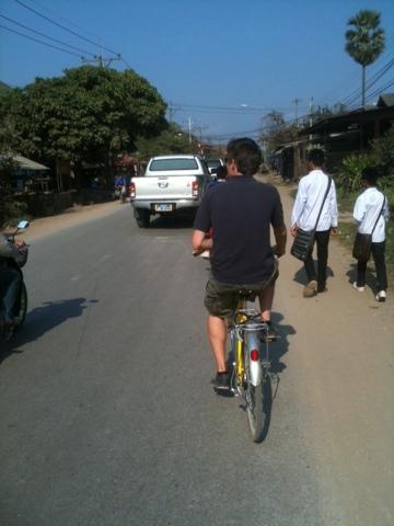 Velotour rund um Luang Prabang
