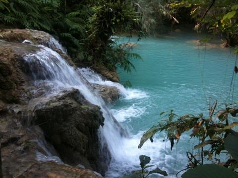 Kuang Si Wasserfälle zum zweiten