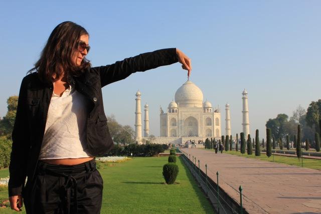Sibylle und der Taj
