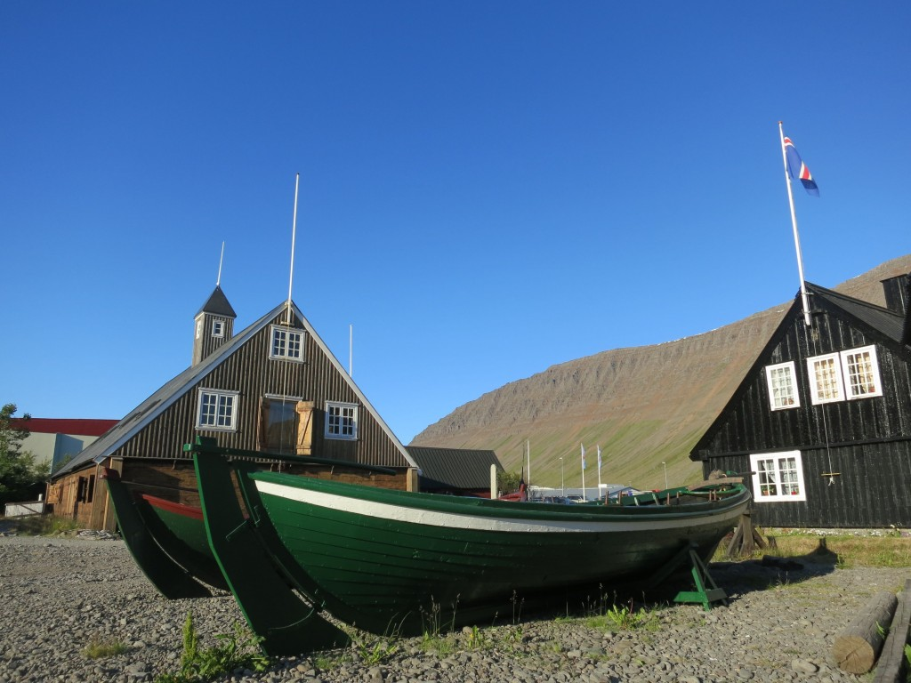 Älteste Häuser Islands in Isafjördur