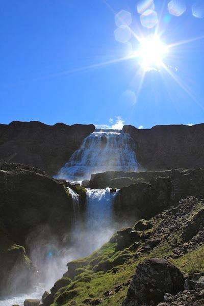 Dynjandi Wasserfall, Westfjorde