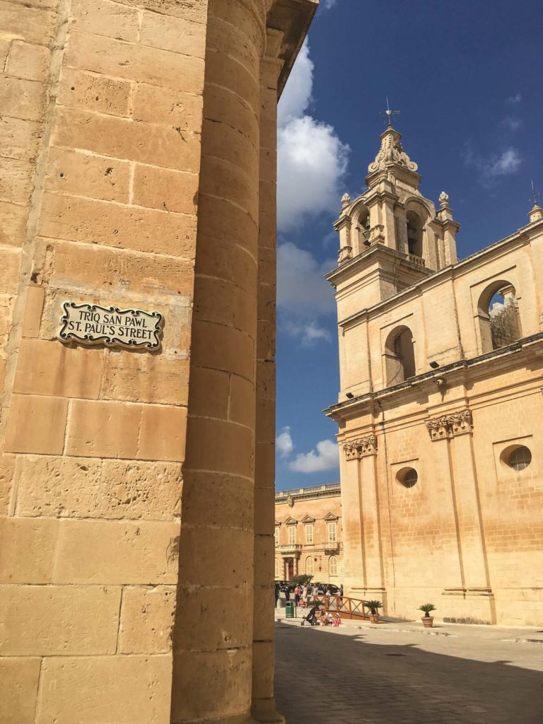 Mdina, St. Paul's Cathedral